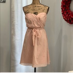Express belted strapless dress size 10